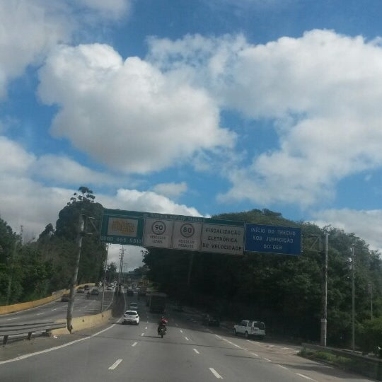 Photo taken at Rodovia Raposo Tavares by Nanda R. on 5/28/2014