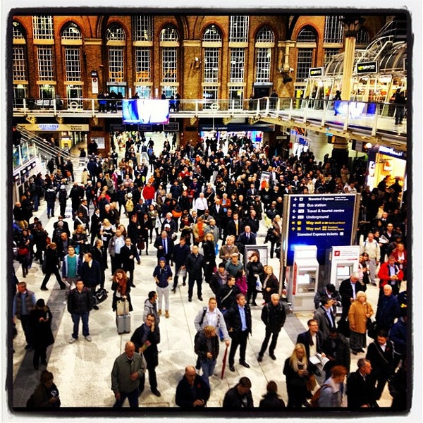 Photo taken at London Liverpool Street Railway Station (ZLS) by Cass S. on 11/2/2012