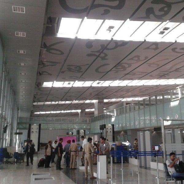 Photo taken at Netaji Subhash Chandra Bose International Airport (CCU) by Shiladitya M. on 7/21/2013