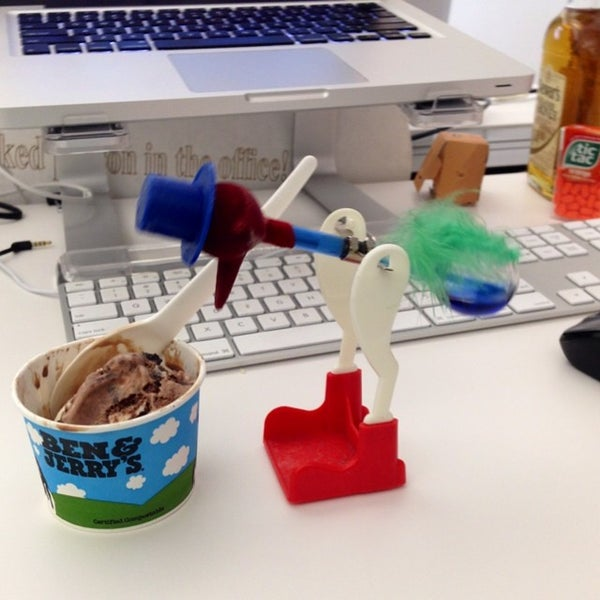 Photo taken at Thrillist HQ by Mike B. on 7/22/2014