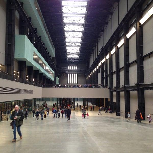 Tate modern art gallery in southwark for Tate gallery di londra