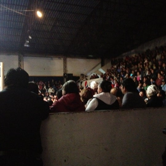 Photo taken at Arena Adolfo Lopez Mateos by Alejandro I. on 12/2/2012