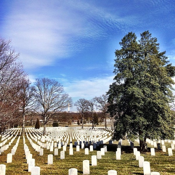 Photo taken at Arlington National Cemetery by Fletch on 3/8/2014