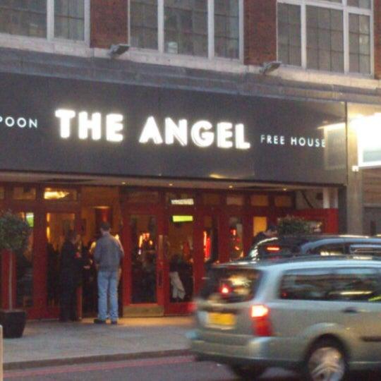 The Angel Wetherspoon Pub In Islington