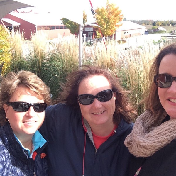 Photo taken at Black Star Farms Winery by Deena S. on 10/19/2014