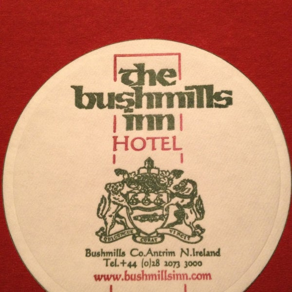 Photo taken at The Bushmills Inn by Suzanne M. on 4/4/2013