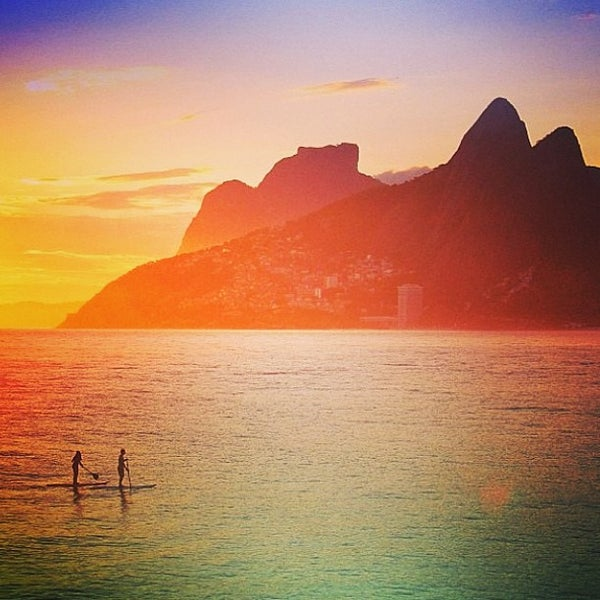 Photo taken at Praia de Ipanema by Marcelo S. on 5/30/2013