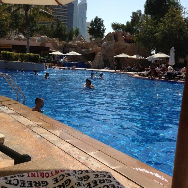 Photo taken at Habtoor Grand Beach Resort & Spa by John O. on 2/16/2013