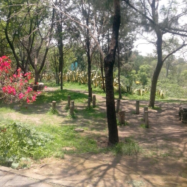 Photo taken at Parque Ecologico Huayamilpas by Nancy C. on 7/1/2013