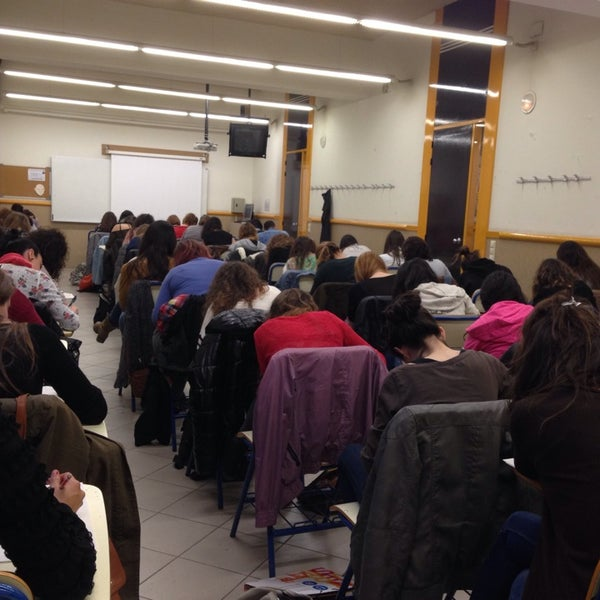 Photo taken at Facultat de Formació del Professorat UB by Horacio V. on 3/19/2014