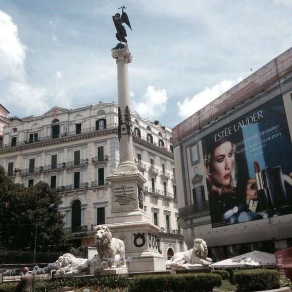 Photo taken at Piazza dei Martiri by Gayevsky on 7/9/2014