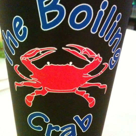Photo taken at The Boiling Crab by Fat P. on 12/1/2012