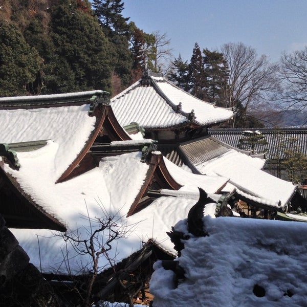 Photo taken at 宝山寺 Hozan-ji (生駒聖天) by K.Watch on 2/16/2014