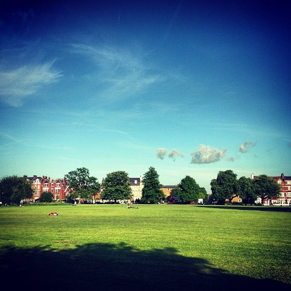 Photo taken at Clapham Common by Simon S. on 6/4/2013