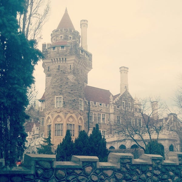 Photo taken at Casa Loma by Alex L. on 4/18/2014