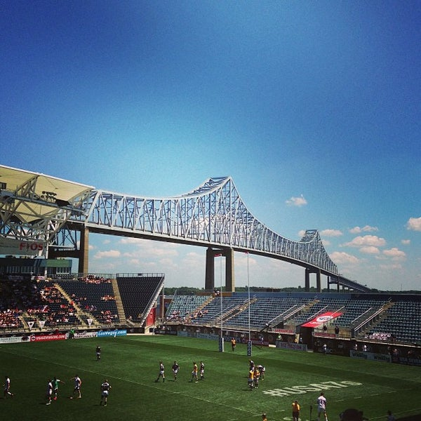 Photo taken at PPL Park by Eric B. on 6/1/2013
