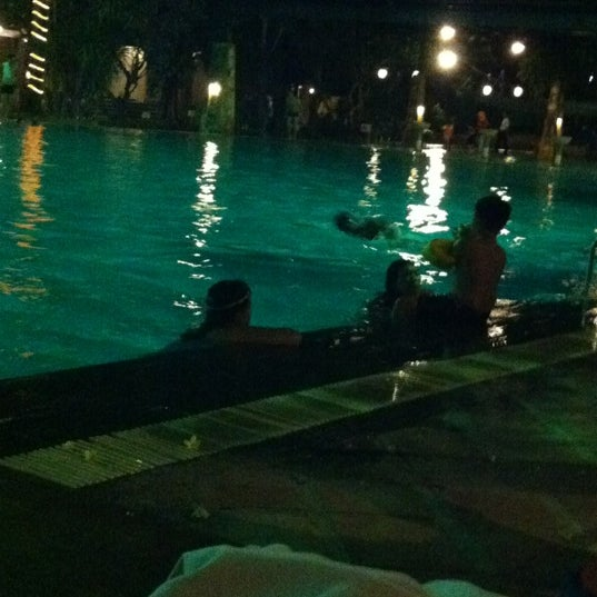 Photo taken at Graha Residence Swimming Pool by Ervina C. on 9/29/2012