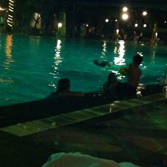 Photo taken at Graha Residence Swimming Pool by Ervina C. on 9/29/2012