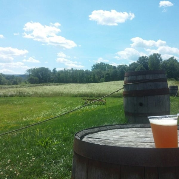 Photo taken at Ithaca Beer Co. Taproom by Jake P. on 8/2/2015