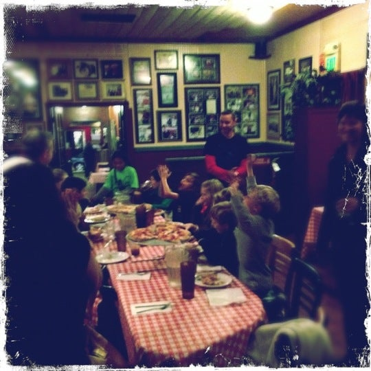 Photo taken at Milano Pizzeria by Aaron A. on 11/30/2012