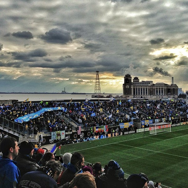 Photo taken at PPL Park by Andy O. on 3/2/2013