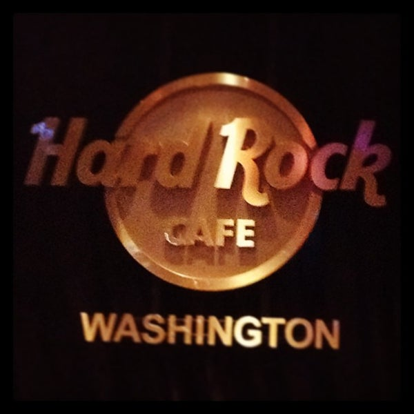 Photo taken at Hard Rock Cafe Washington DC by Ana C. on 12/28/2012