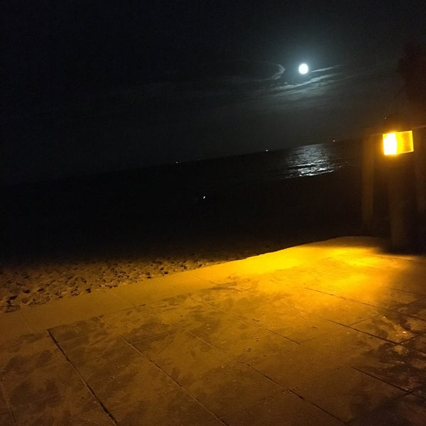 The moonlight at this place is spectacular