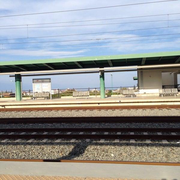 Photo taken at Σταθμός Προαστιακού Κιάτο (Kiato Suburban Rail Station) by Dimitris M. on 10/6/2013