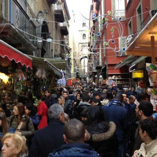 Photo taken at S. Gregorio Armeno by Michele B. on 12/16/2012