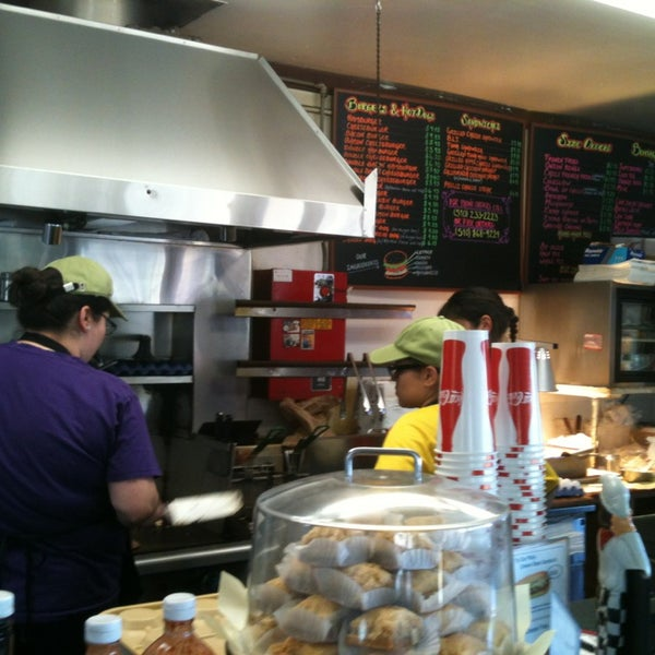 Photo taken at Great American Hamburger & Pie Co by Prisczy D. on 5/4/2013