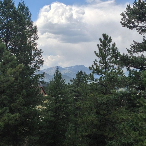 Photo taken at YMCA of the Rockies by Sally J. on 7/21/2013
