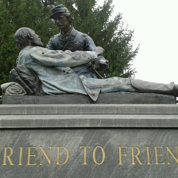 Photo taken at Gettysburg National Cemetery by Barb O. on 10/31/2013