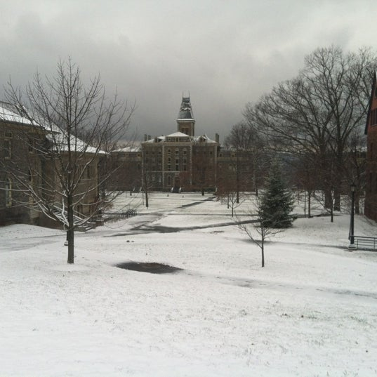 Photo taken at Cornell University by MaryAnn H. on 12/25/2012