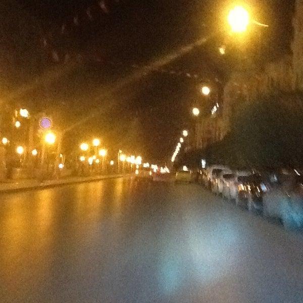 Photo taken at Avenue Habib Bourguiba I شارع الحبيب بورقيبة by Martin .. on 1/31/2013