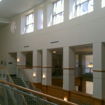 Photo taken at University of Oregon School of Law by Matthew R. on 3/7/2013