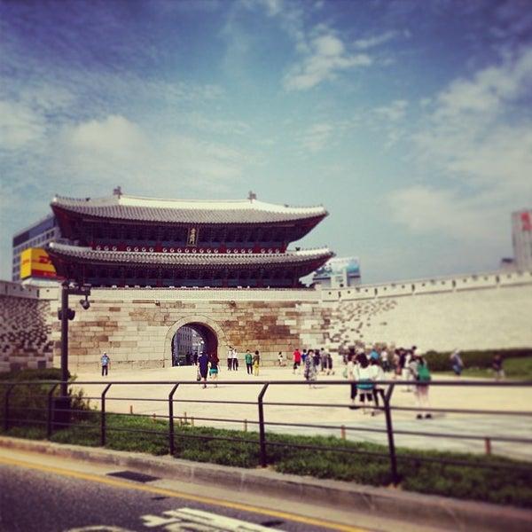Photo taken at Sungnyemun by HyungJoon M. on 6/23/2013