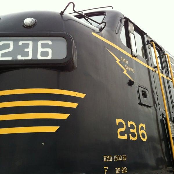 Photo taken at B & O Railroad Museum by Jason B. on 2/22/2013