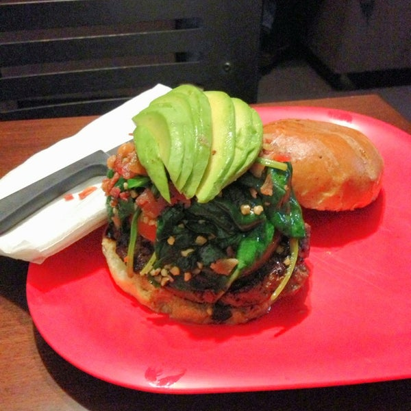 Photo taken at G Burger by Hector C. on 4/6/2013