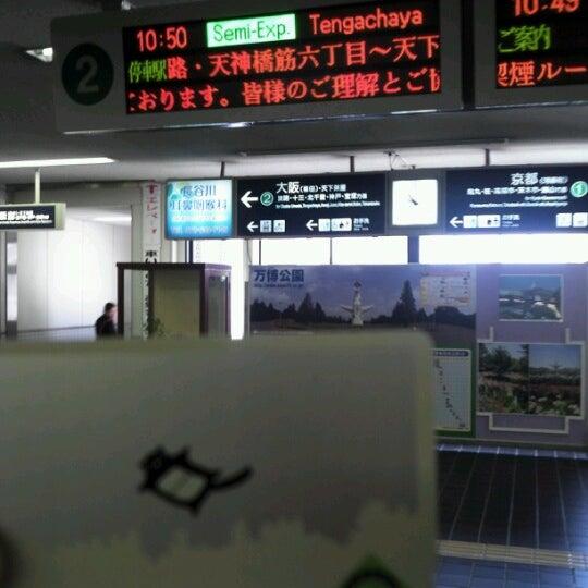 Photo taken at 阪急 南茨木駅 (Minami-ibaraki Sta.) (HK-68) by Aki O. on 5/18/2013