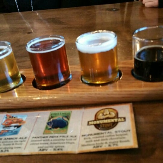 Photo taken at Colorado Mountain Brewery by Chris H. on 4/1/2016