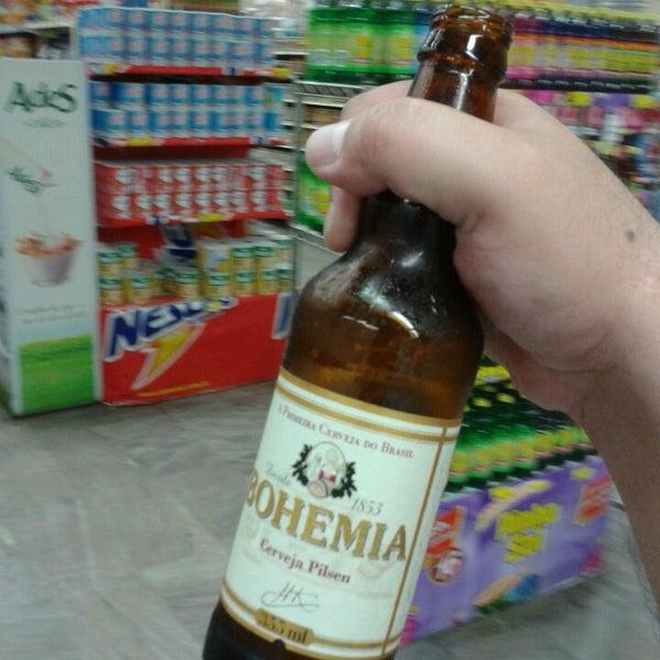 Photo taken at Supermercados Nazaré by #timbeta J. on 10/3/2013