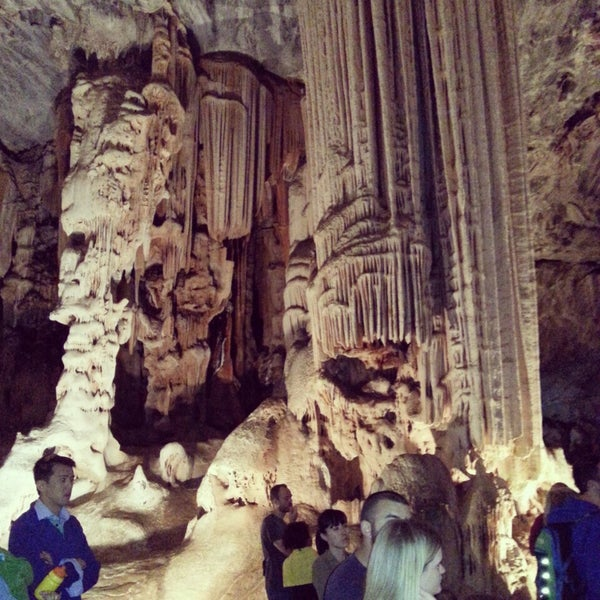 Photo taken at Cango caves by Наталья М. on 8/25/2014