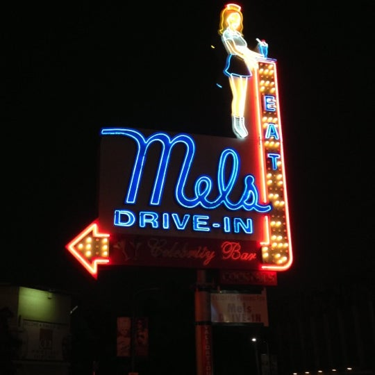 Photo taken at Mel's Drive-In by Lindsay I. on 12/17/2012