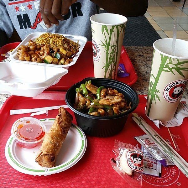 Photo taken at Panda Express by William C. on 8/19/2014
