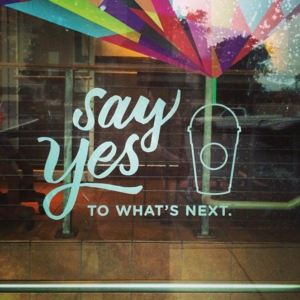 Photo taken at Starbucks by Ben T. on 5/8/2014