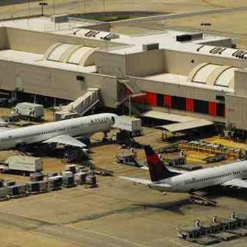 Photo taken at Hartsfield-Jackson Atlanta International Airport (ATL) by Chris . on 9/11/2013