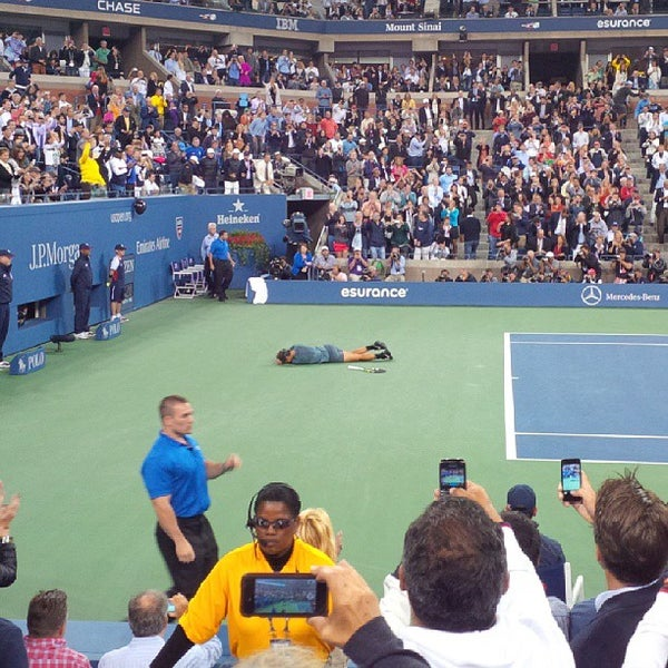 Photo taken at 2013 US Open Tennis Championships by Matthew S. on 9/11/2013