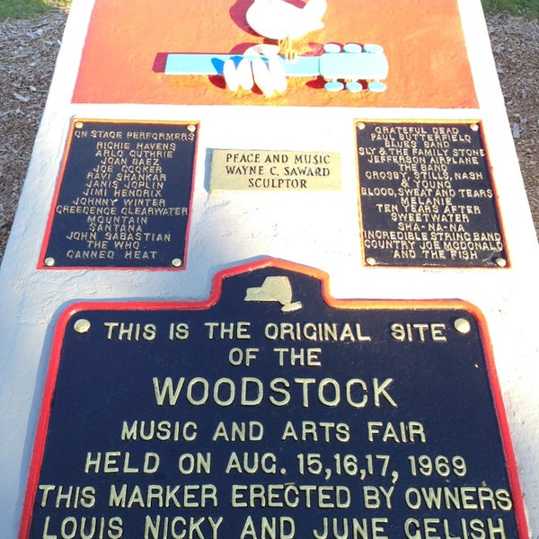Photo taken at Woodstock Festival Concert Site/Monument by Tim P. on 7/29/2013