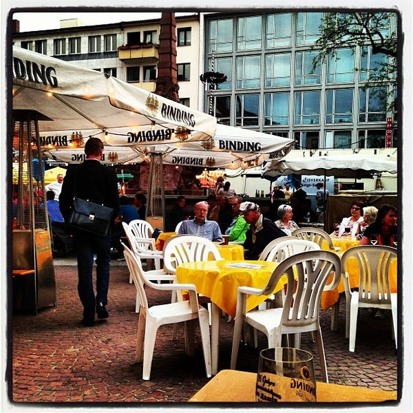 Cafe Liebfrauenberg Frankfurt
