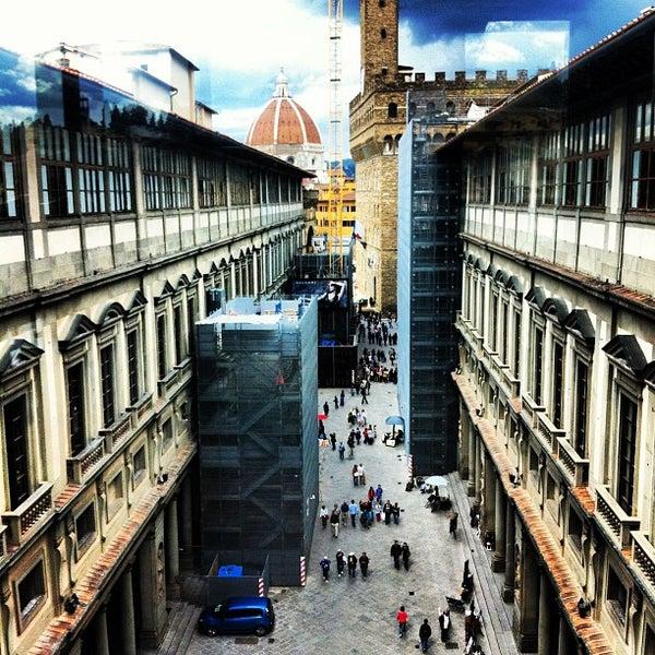 Photo taken at Galleria degli Uffizi by Bogdan K. on 4/23/2013